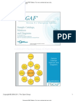 TOGAF V91Sample Catalogs Matrics Diagrams v3