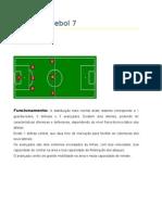 Tácticas futebol 7