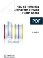 Checkpoint Firewall Health Check