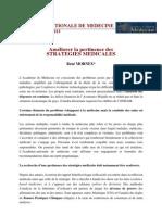 2 Rapport Pertinence des stratégies médicales 27 mars1