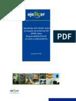 Resultados Estudio Impacto de ISO26000 en Chile y Latam - EjeRSer
