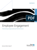 Employee Engagement Maximizing Organizational Performance