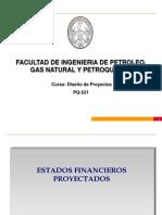 (08) EPI UNI Estados Financieros Proyectados