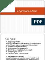7 Teknik Penyimpanan Arsip