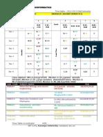 Bioinformatics Time Table 2012-2013 EvenSem