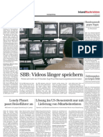 Swiss newspaper