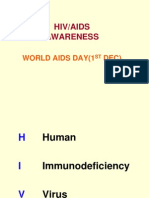 HIV AIDS Awareness