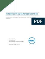 Dell OpenManage Essentials Install