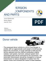 Ford Ford Ranger EV Component ListRanger EV Component List