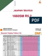 1660SM Resumen Técnico - Release 5.2 v1.0