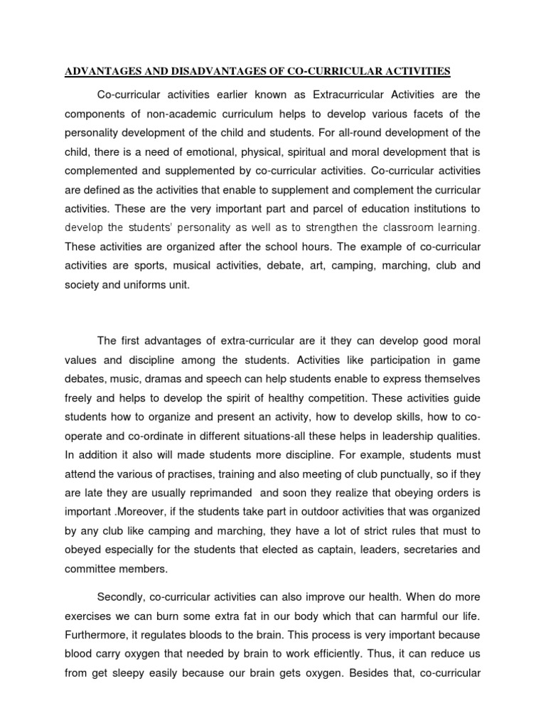 importance of education essay for students need of education essay  essay co curricular skill curriculum