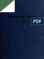 Farnsworth, Edward Clarence - The Deeper Mysteries (1921)