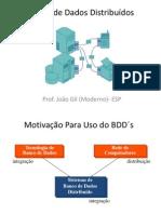 BANCO DE DADOS DISTRIBUÍDOS