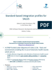 Standard-Based Integration Profiles for Clinical Research and Patient Safety_SALUS_SRDC_Sinaci
