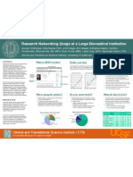 Research Networking Usage at a Large Biomedical Institution (Poster)