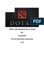 DotA 2 - Offline LAN Dedicated Server Guide