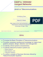 EEE402F Special Tut on Telecoms Basics.pps