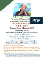 Conferencia de Bernard Golse