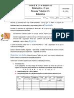 Ficha de Trabalho Estatc3adstica1