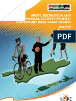 Regional Sports Trust Profile Canterbury