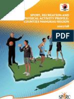 Regional Sport Trust Profile Counties Manukau