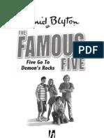 Five Go To Demon's Rocks - Excerpt