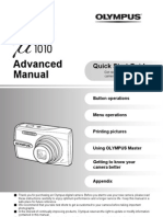 Olympus u 1010 / 1020 Advanced Manual