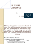 Turbine & Boiler Efficiency
