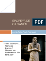Unidad 1 Epopeya de Gilgamés - Andrés Felipe Alzate