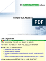 4-Simple SQL Queries