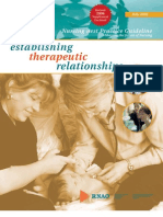Establishing Therapeutic Relationships