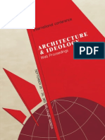 WEB Proceedings International Conference Architecture and Ideology