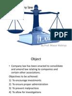 4.Company Law Slides