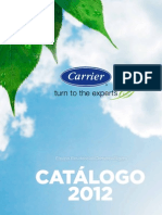 Carrier Catalogo 2012