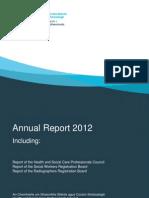 CORU 2012 Annual Report