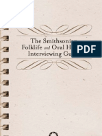 Oral History Interviewing Guide