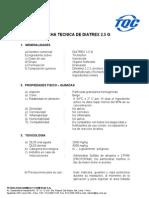 Diatrex b Ficha