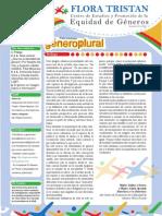 Revista El Género en Plural Nº 3 (agosto 2012)