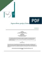 Aquaculture Project Formulation