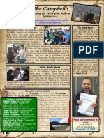 Spring 2013 - Campbell Mission's Newsletter