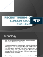 Recent Trends of London Stock Exchange