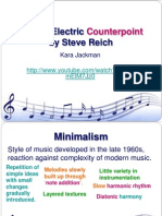 Electric Counterpoint Revision Powerpoint