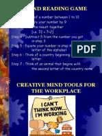 Slds Mindmapping