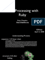 Ruby for Data Processing