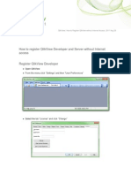How to Register QlikView Developer and Server Without Internet Access