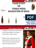 Strategy of Cobra Beer