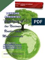 Conferencia de La Onu Sobre Medio Ambiente-uladech Dderecho Piura-eduardo Ayala Tandazo