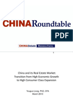 Youguo Liang - China Real Estate Market