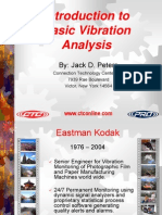 Introduction to Basic Vibration Analysis
