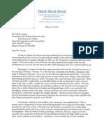 Sen. Rockefeller Letter to Carnvial